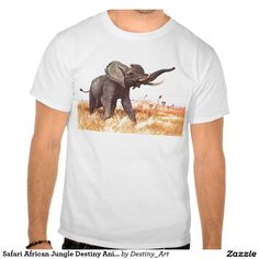 Safari African Jungle Destiny Animals Elephants Shirts