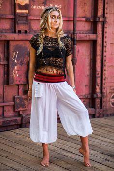 Harem Pants Aladdin Pants Buddha Pants Flow Pants by HighThai