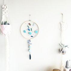 Custom Mermaid Dream Catcher- DreamCatcher- Turquoise Wall Decor- Wall Accent Decor- Bohemian decor- Boho Decor- Home Decor- Hippie- Gypsy  https://www.etsy.com/ca/listing/469078767/custom-mermaid-dream-catcher