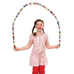 Weave a Jump Rope With this classic finger-weaving project, kids recycle their old socks and outgrown tights into a colorful homemade jump rope. What youll need 3/4-inch-wide loops of fabric cut from socks and tights (our 6 1/2-foot jump rope required 157)