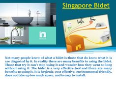 The bidet is a very effective tool and there are many benefits to using it. Check this link right here http://baths.sg/lights/ for more information on bidet spray Singapore. It is hygienic, cost effective, environmental friendly, does not take up too much space, and is easy to install. Hence buy the most suitable bidet spray Singapore for your bathroom and get it installed easily.Follow us : http://singaporebathlight.tumblr.com/