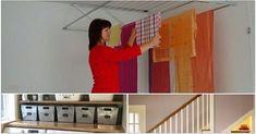 10 káprázatos ötlet, hogyan spórolj helyet a lakásban! Ötletek pici lakások berendezéséhez! Organization, House, Furniture, Home Decor, Tips, Homes, Ideas, Getting Organized, Organisation