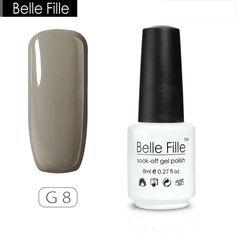 Belle Fille Grey Series UV Nail Gel Polish