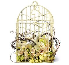 birdcag centerpiec, bird cage, weddings, birdcages, birdcag idea, birds, wedding centerpieces, flower girl, decor birdcag