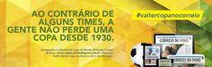 Cobertura dos jogos do mundial pelo tradicional jornal Correio do Povo.