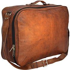 Gusti Leder nature Genuine Leather Travel Luggage Weekend Holdall Smart Business Trip Large Vintage Bag Unisex Brown R7 - http://www.fivedollarmarket.com/gusti-leder-nature-genuine-leather-travel-luggage-weekend-holdall-smart-business-trip-large-vintage-bag-unisex-brown-r7/