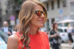 Anna Dello Russo con gli occhiali spektre. - www.vingerhoets-optics.be