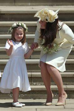 Princess Charlotte & Kate Middleton @ Royal Wedding