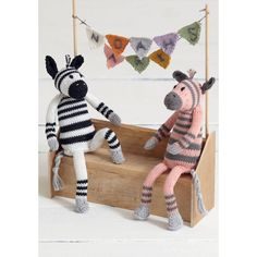 Noahs Arc - Zany Zebras in Sirdar Cotton DK. Discover more Patterns by Sirdar at LoveKnitting. We stock patterns, yarn, needles and books from all of your favorite brands.