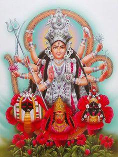 Today is also celebrated as Kali Chaudas. Kali Chaudas is also known as Naraka Chaturdashi. Maa Durga Photo, Durga Maa, Durga Goddess, Goddess Art, Mother Kali, Divine Mother, Hindu Worship, Kali Hindu, Kali Mata
