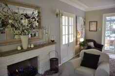 Before and After Of A Lounge & Dining Room – Remodelaholic