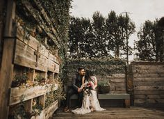 Smoky Hollow Studio Wedding El Segundo Autumn Inspirationindoor Ceremonywarehouse Weddingwarehousesreceptionslos Angeles