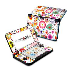 Nintendo 3DS XL Skin - Eye Candy by Reilly | DecalGirl