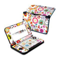 Nintendo 3DS XL Skin - Eye Candy by Reilly   DecalGirl