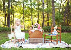 Lily Reese and her tea party session – Augusta, GA child photographer