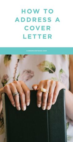 """There's a lot of advice out there re: how to address a cover letter. One of our career experts, a former recruiter, sets the record straight on best practices. Click to find out what she thinks! 