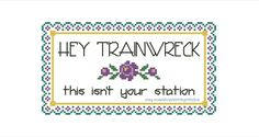 Snarky Cross Stitch Pattern PDF - Instant Download - Cross Stitch Quote - Subversive Embroidery - Cross Stitch Funny - Sarcastic X Stitch by StitchyLittleFox on Etsy