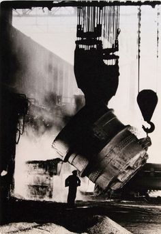 Bill Henson. Steel Mill, Port Kembla 1959 NSW Mark Strizic