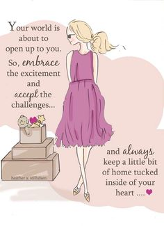 Embrace you challenges
