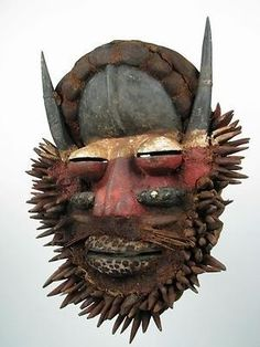 Ivory Coast We Guere Tribal Mask