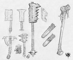 warhammer online - weapons