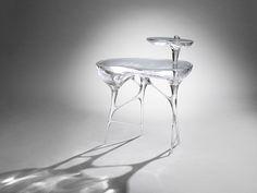 Mattia Bonetti Side Table U0027Bubblegum Acrylicu0027