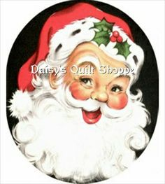 Digital Download Retro Santa Claus YOU PRINT 7019D