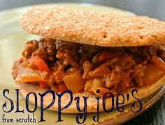 sloppy joe's from scratch