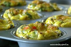 "Healthy Egg Breakfast Meals | Healthy Breakfast Egg ""Muffins"" 