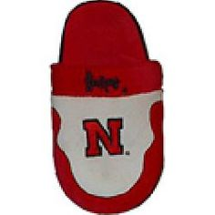 ComfyFeet Nebraska Cornhuskers Slip On Slippers