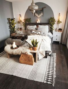 Modern Bedroom Ideas - Searching for the best bedroom design ideas? Utilize these lovely modern bedroom ideas as ideas for your own amazing decorating system . Home Bedroom, Home Decor, Room Inspiration, House Interior, Bedroom Inspirations, Apartment Decor, Room Decor, Bedroom Decor, Interior Design