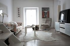 Adapting a small flat for family life - Great idea for our move!