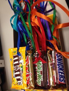 Candy Bar Medals- For bible verse memorization and team question prizes at end of week. Use airheads candy instead