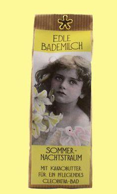 Bademilch Sommernachtstraum