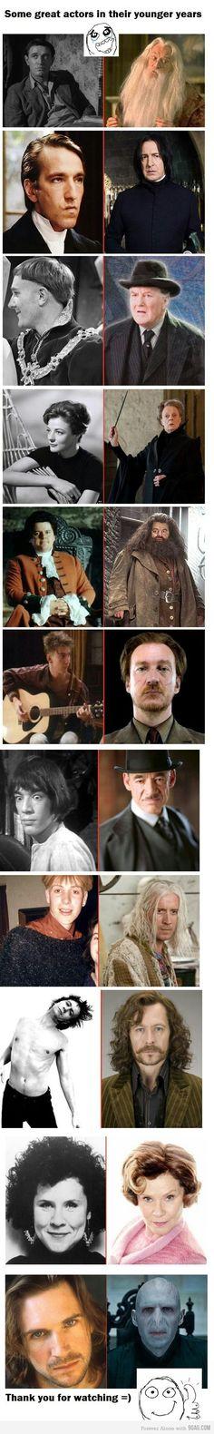 Snape, Voldemort, and Sirius.....