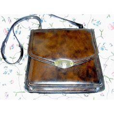 SALE ! original 70s bag genuine leather