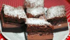 Šikovný čokoládový koláčik: Všetko vylejete na plech a z rúry vyberiete sladký zázrak s tromi vrstvami!