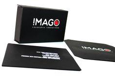 CriativeBox / IMAGO / box personalizado em serigrafia.  #criativebox #embalagens  #brindepersonalizado  #brinde #Caixapersonalizada #projetosespeciais #caixa #caixarigida #package #Box #embalagensespeciais #packaging