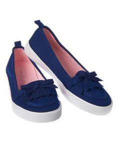 Fringe Slip-On Sneakers