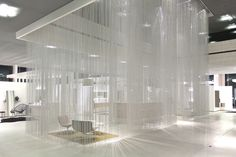 Wow factor contemporary curtains that give the effect of rain - http://www.adelto.co.uk/rain-effect-contemporary-curtains