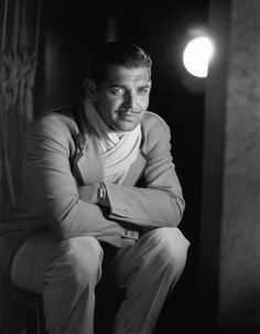Clark Gable, by GEORGE HURRELL