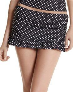 **Dot Swim Skirt ~ swimsuit ~ www.whitehouseblackmarket.com