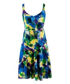 Another great find on #zulily! Watercolors Sleeveless Cover-Up by Peppermint Bay #zulilyfinds