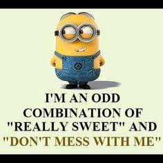 I'm an odd combo