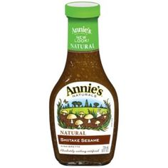 I am obsessed with this dressing. It is DELICIOUS!! Annie's Naturals Shiitake & Sesame Vinaigrette