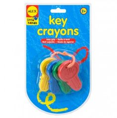 Key Crayons(has baby draw on all my walls written all over it ) smh