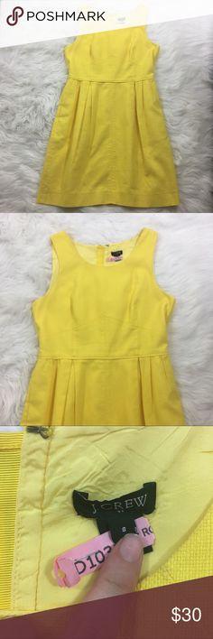 J. Crew Yellow Dress Beautiful yellow dress from J. Crew. Freshly dry cleaned J. Crew Dresses