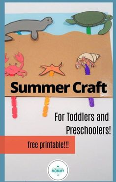 Fun crafts for the summer are just free printable away. You and your kids will enjoy this arts and crafts summer-themed Fun Pack. Perfect for rainy summer days or an indoor activity when you need a break from the Sun. Fun pineapple crafts for your kids to make as well as easy summer stick puppets your kids will enjoy playing with. #awesomecraftsforkids #funcraftsforthesummer #papercraftsforkids Animal Crafts For Kids, Summer Crafts For Kids, Paper Crafts For Kids, Crafts For Kids To Make, Fun Crafts, How To Make, Indoor Activities, Summer Activities, Summer Days