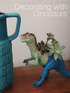 Fun decorating ideas using Dinosaurs!