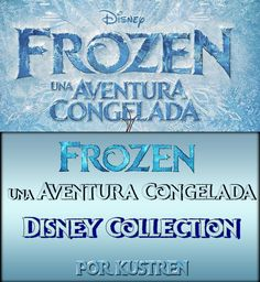 Frozen font Ver. 2 - Por Kustren by kustren on deviantART